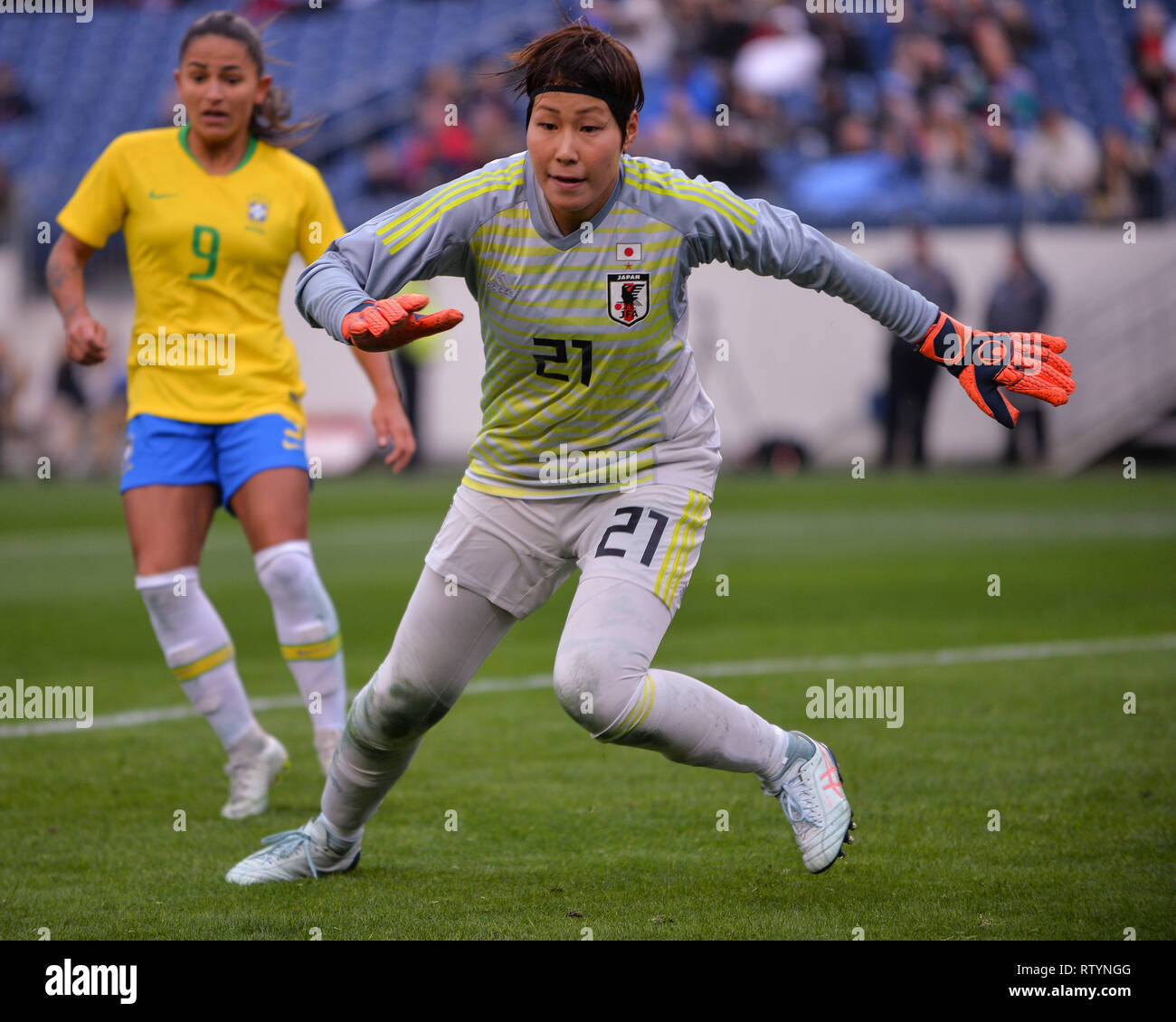 Nashville Usa 02 Mar 2019 Japans Frauen