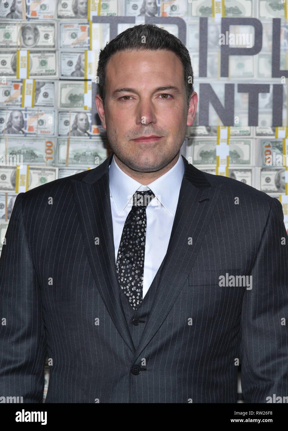 "New York, USA. 3. Mär 2019. Ben Affleck besucht die ""Triple Frontier' Weltpremiere auf Jazz am Lincoln Center am 03 Maerz, 2019 in New York City. Credit: Erik Pendzich/Alamy leben Nachrichten Stockfoto"