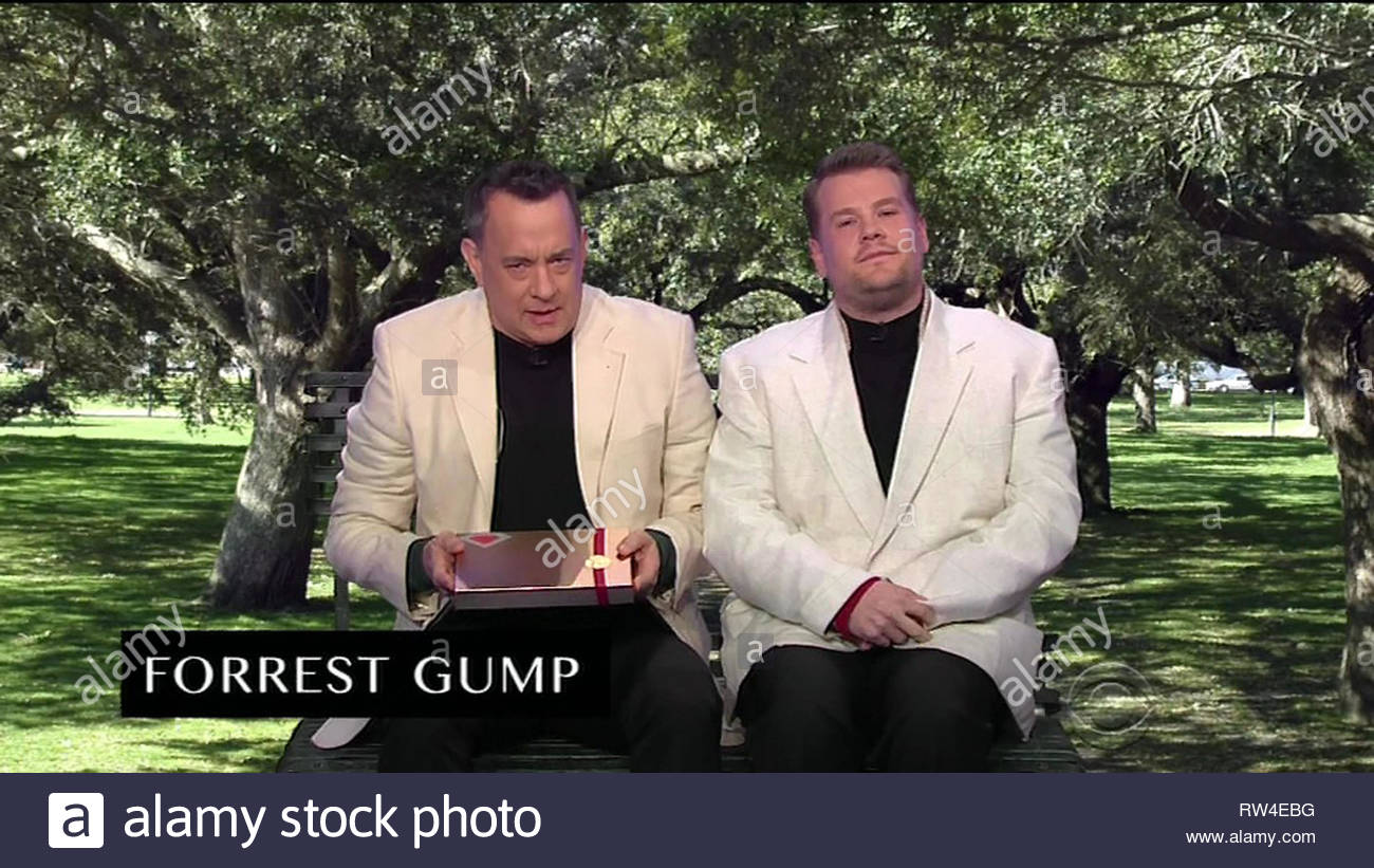 Tom Hanks Forrest Gump Still Stockfotos Tom Hanks Forrest Gump