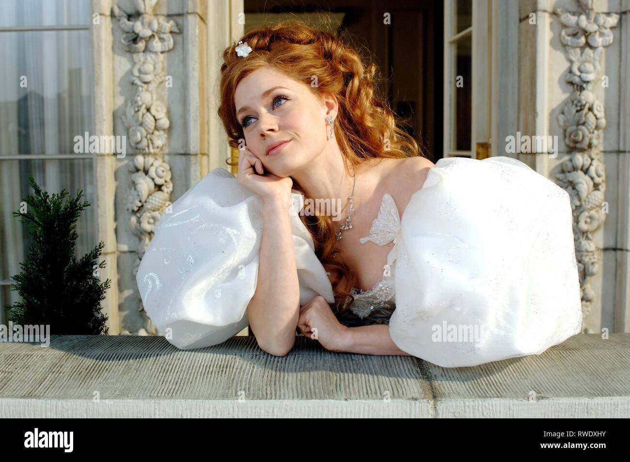 AMY ADAMS, verzaubert, 2007 Stockbild