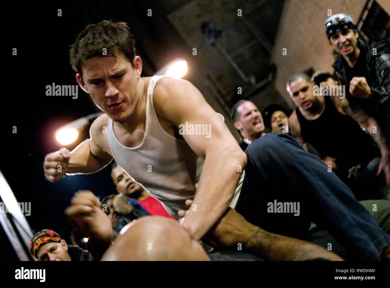 CHANNING TATUM, kämpfen, 2009 Stockbild