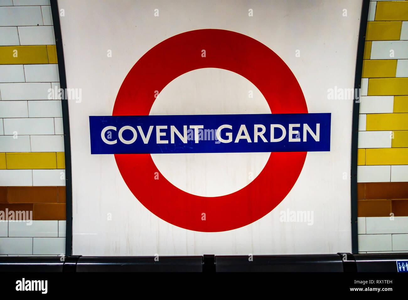 Tfl London Underground Leuchtkasten Schild mit 10 Zeichen Rohr Stationen