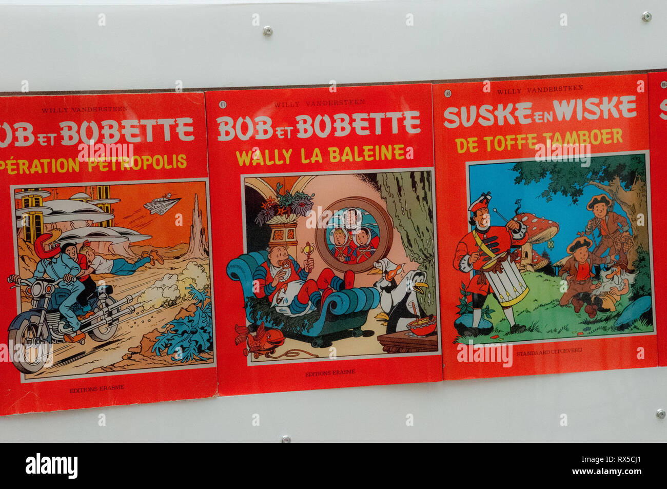 Europa, Belgien, Brüssel, das Belgische Comic-Zentrum Stockbild