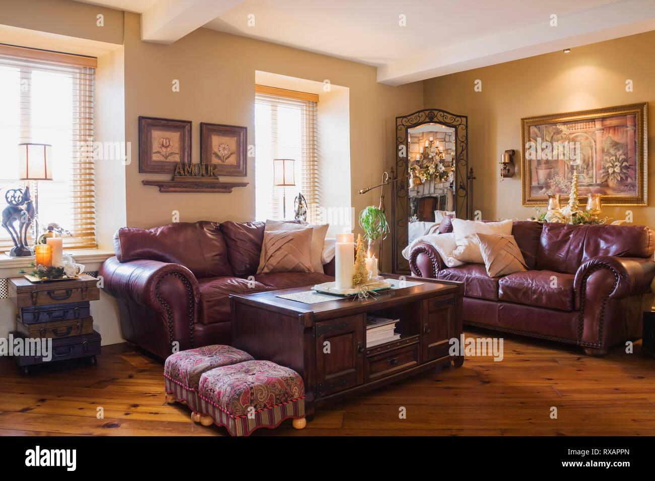 - Leather Sofas Stockfotos & Leather Sofas Bilder - Alamy