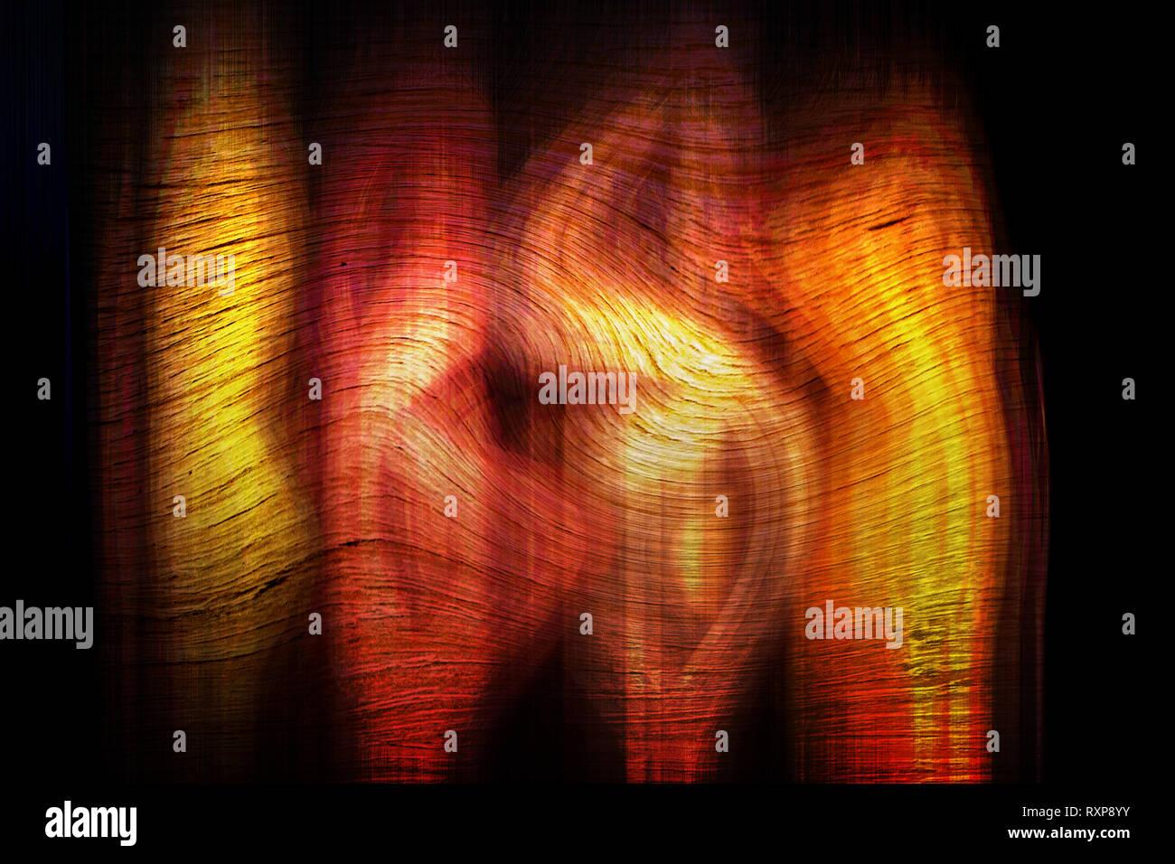 Konzept Abstract: Abract Färbung Stockbild