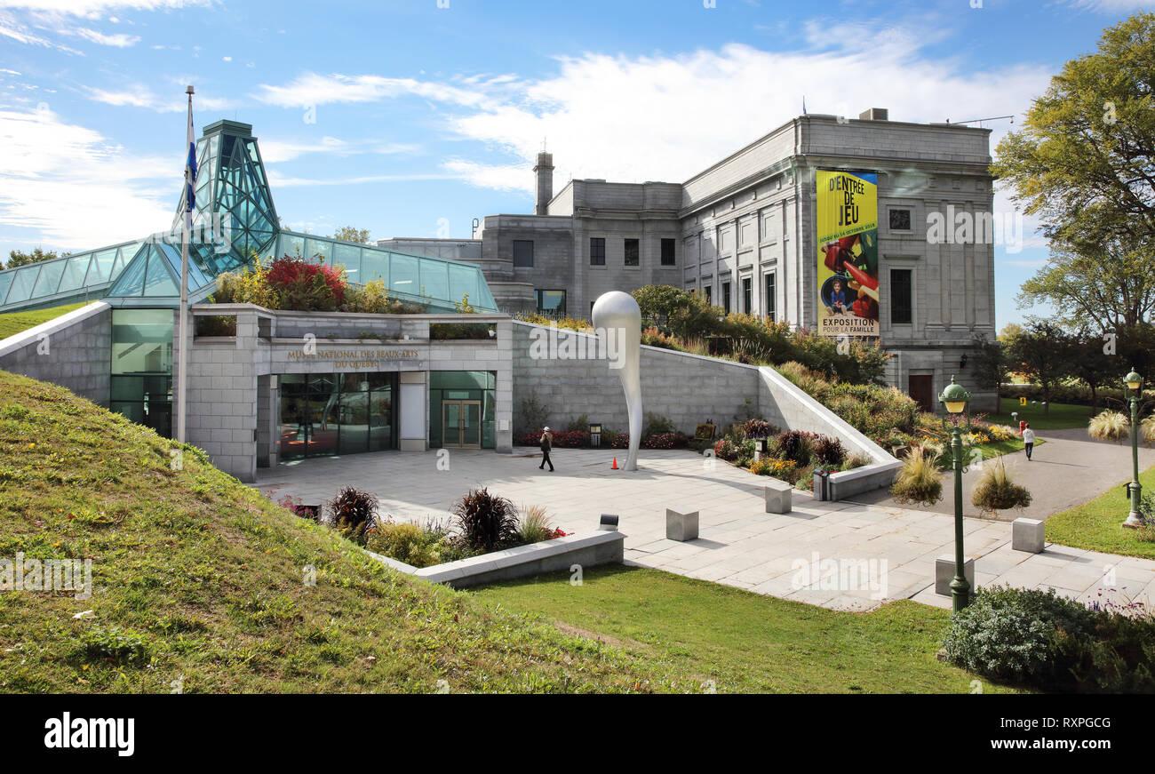 Musée National Des Beaux Arts Du Québec Stockfotos & Musée National ...