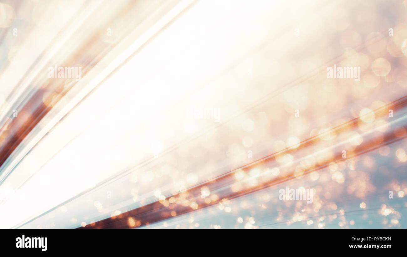 Für das neue Jahr. Schneeflocken Staubpartikel. Abstrakte Farben Urlaub ba Stockbild
