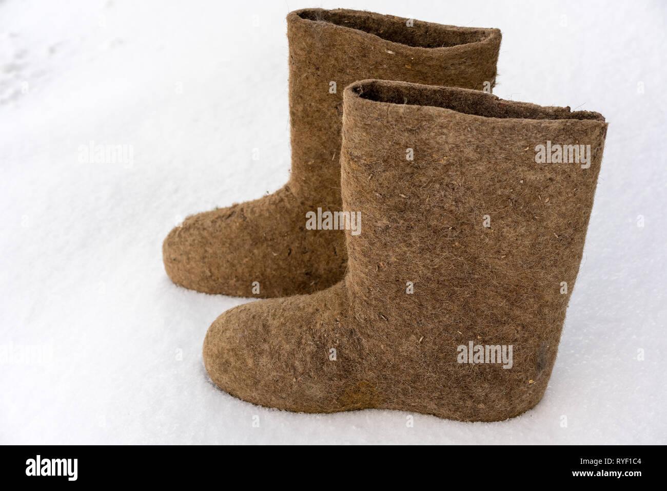 online retailer 2b374 2e633 Alte nationale traditionelle russische Winter schuhe Boot ...