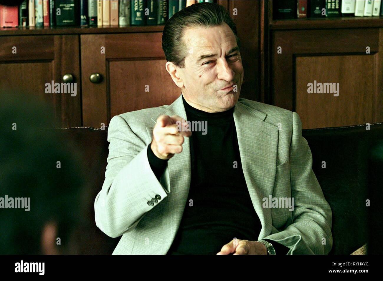 ROBERT DE NIRO, Analysieren, 2002 Stockfoto