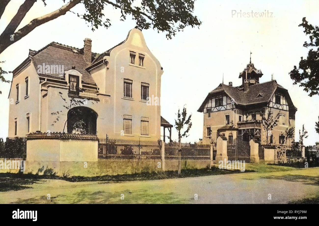 Villen in Sachsen, Gebäude im Landkreis Meißen, Priestewitz ...