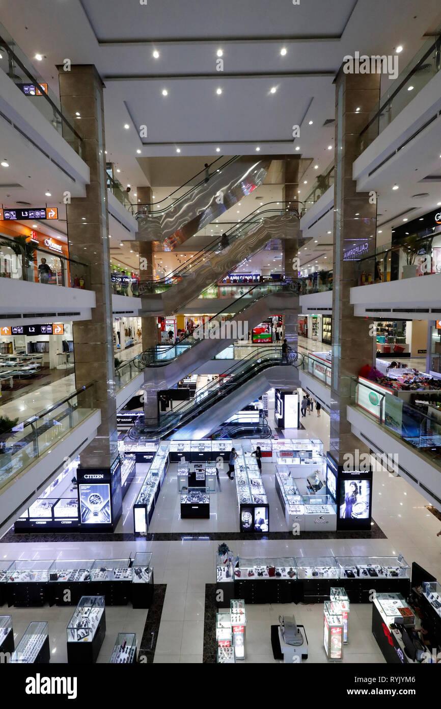 Shopping Center. Can Tho. Vietnam. Stockbild