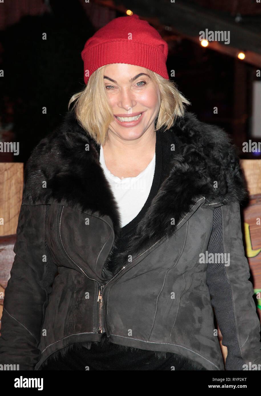 Nov 20, 2014 - London, England, UK-Winter Wonderland VIP-Eröffnung, Hyde Park, London Foto zeigt: Brix Smith Stockfoto