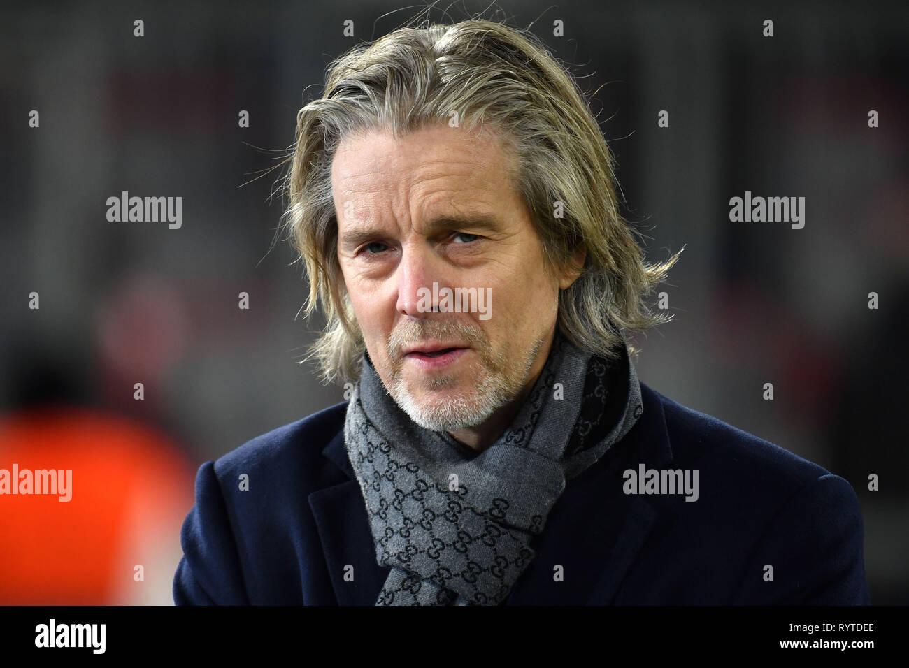Jan Alter Fjortoft Sky Fussball Reporter Ex Fussball Spieler