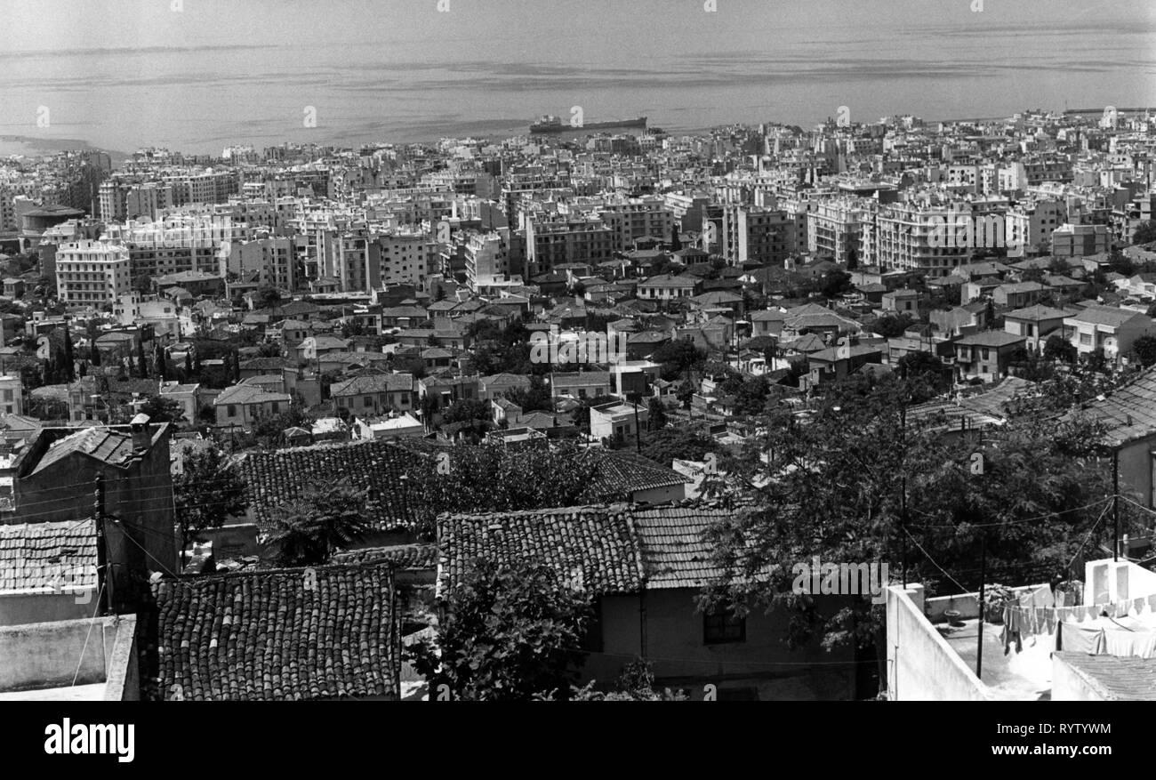 Geographie/Reisen, Griechenland, Saloniki, Übersicht, 1960er Jahre, Additional-Rights - Clearance-Info - Not-Available Stockbild