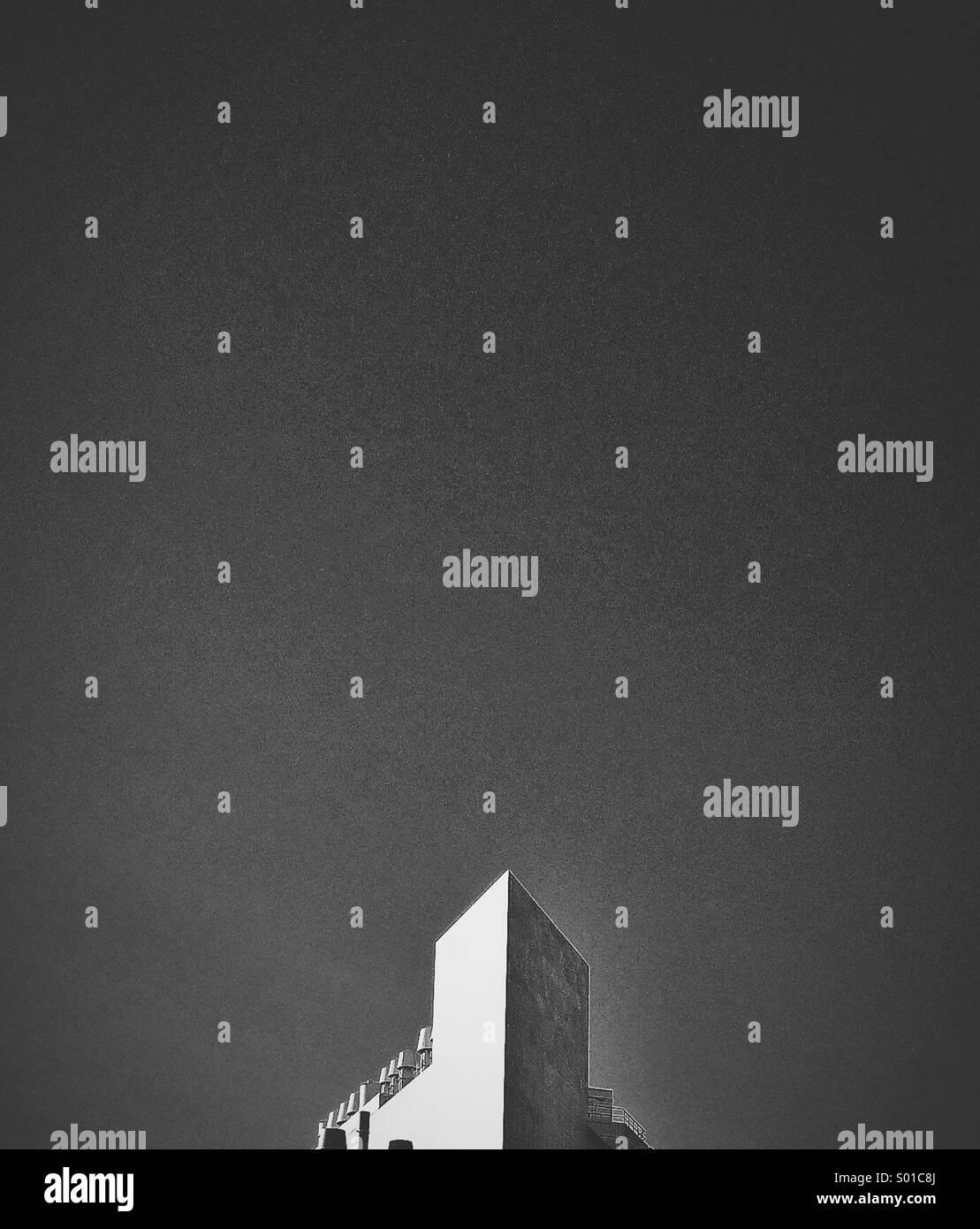 Gebäude-Kante Stockbild