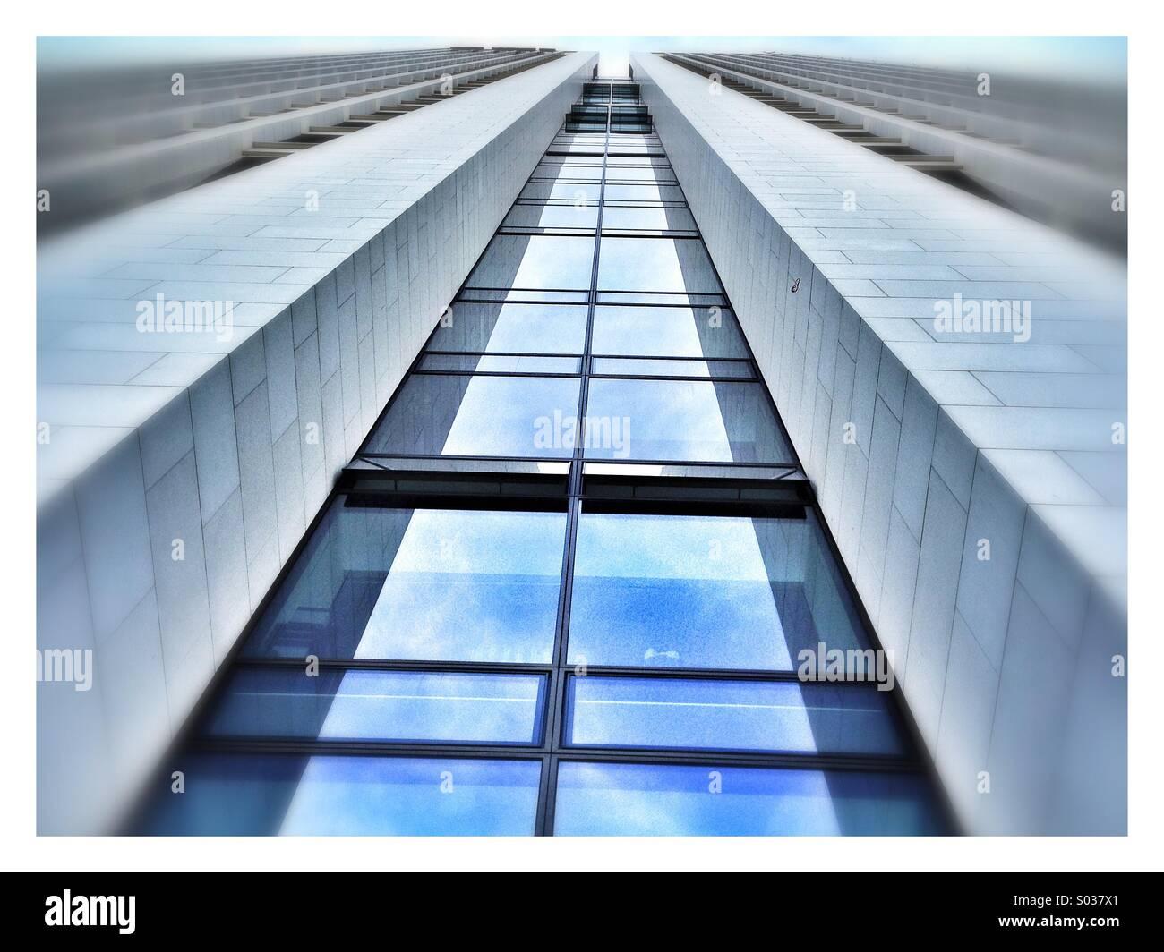 Büroturm Stockbild