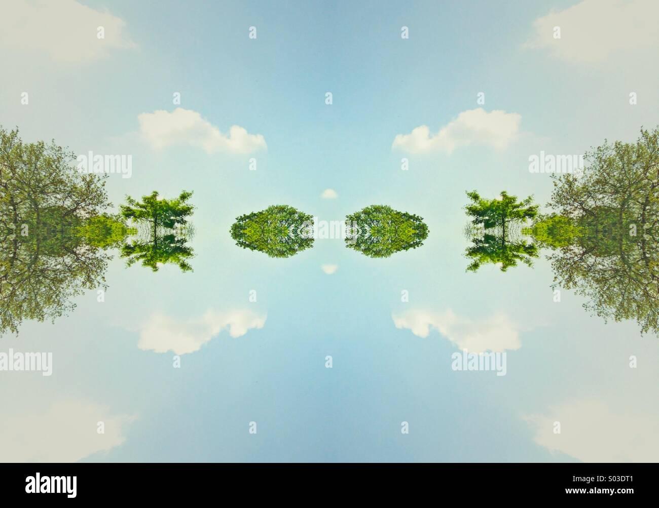 Surreale Fotografie Stockbild