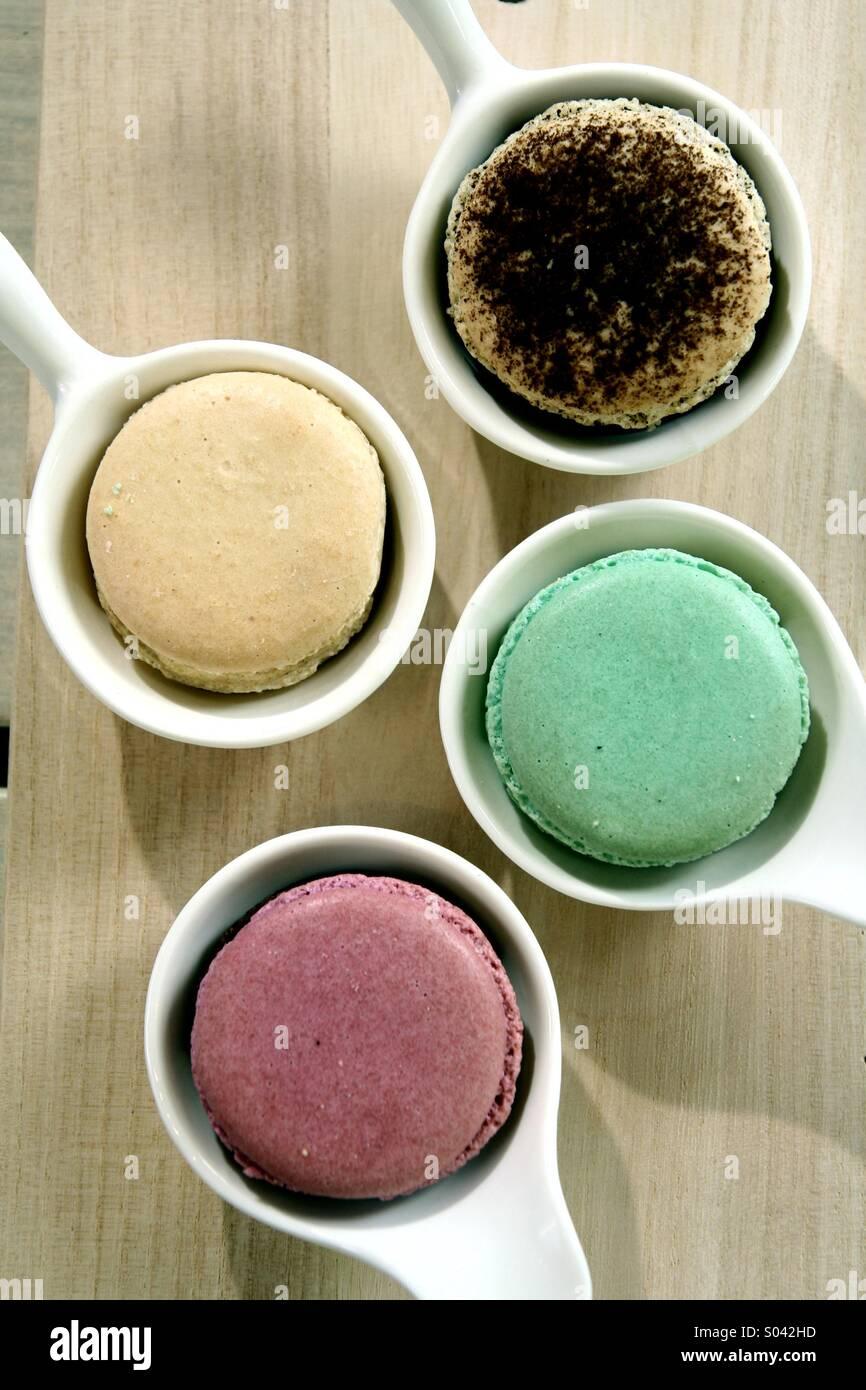 Kleine Kuchen desserts Stockfoto