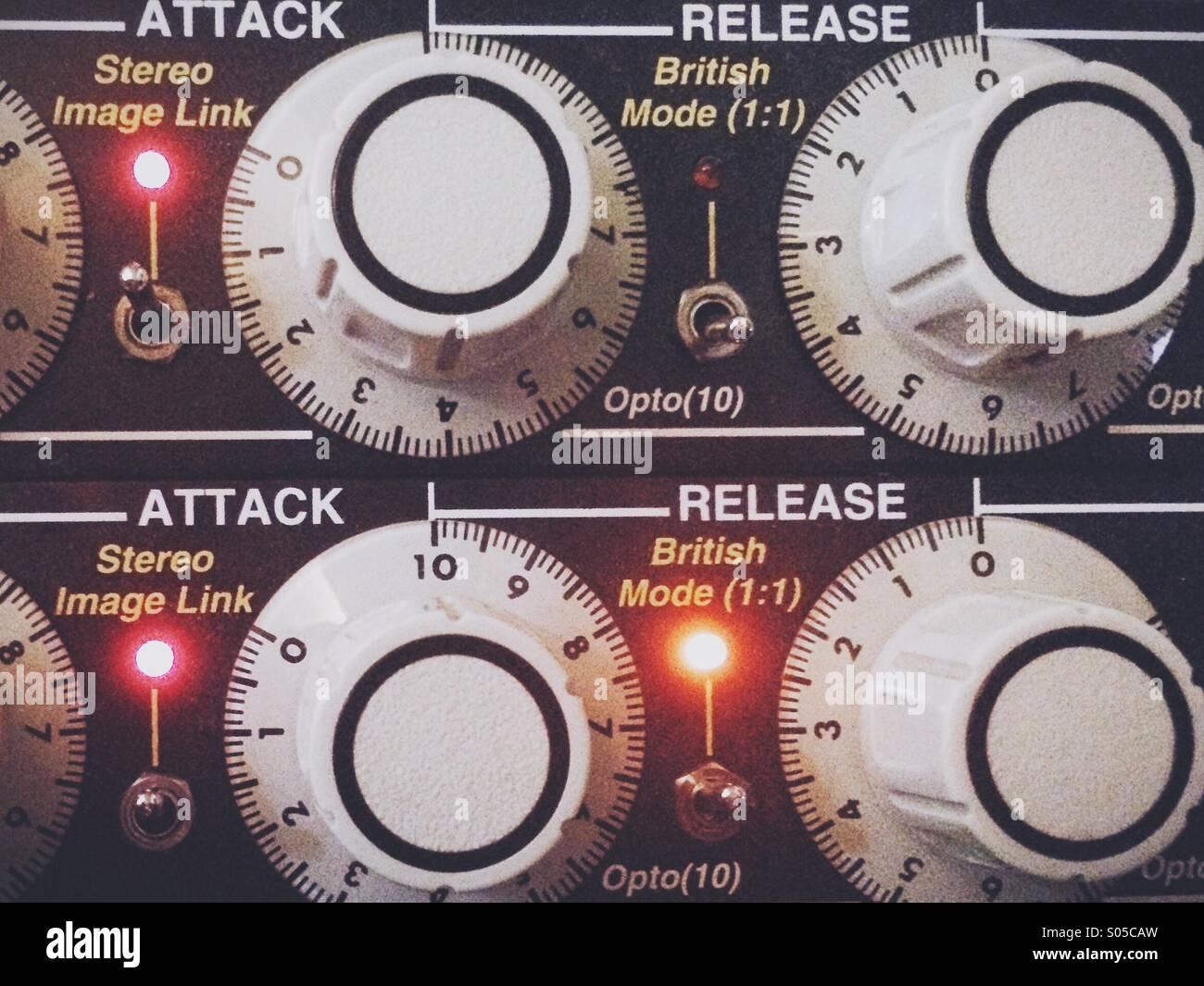 Attack Release Stockbild
