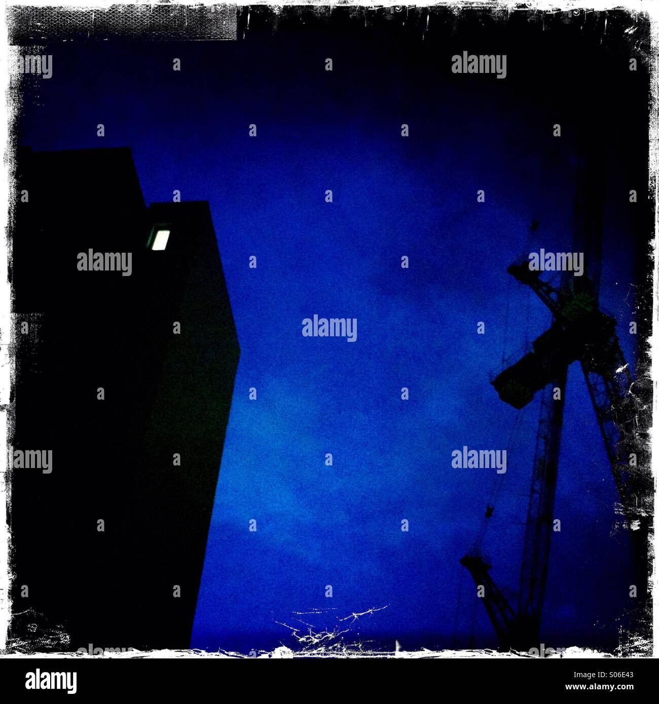 Nachtlicht Stockbild
