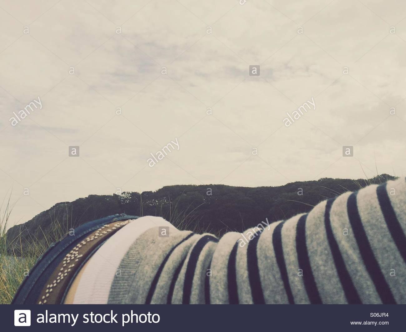 Outdoor-nap Stockbild
