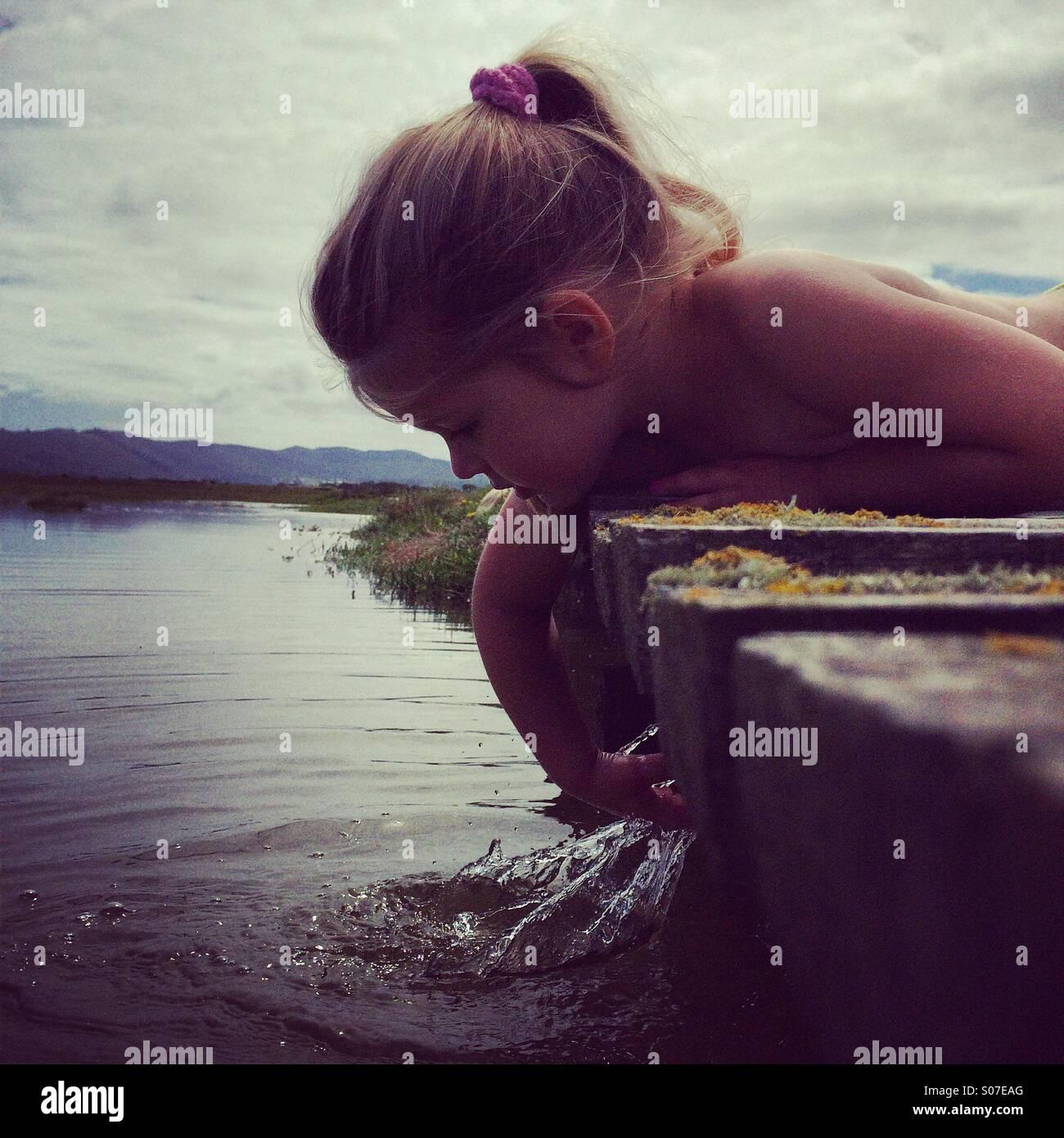 Summer Splash Stockbild