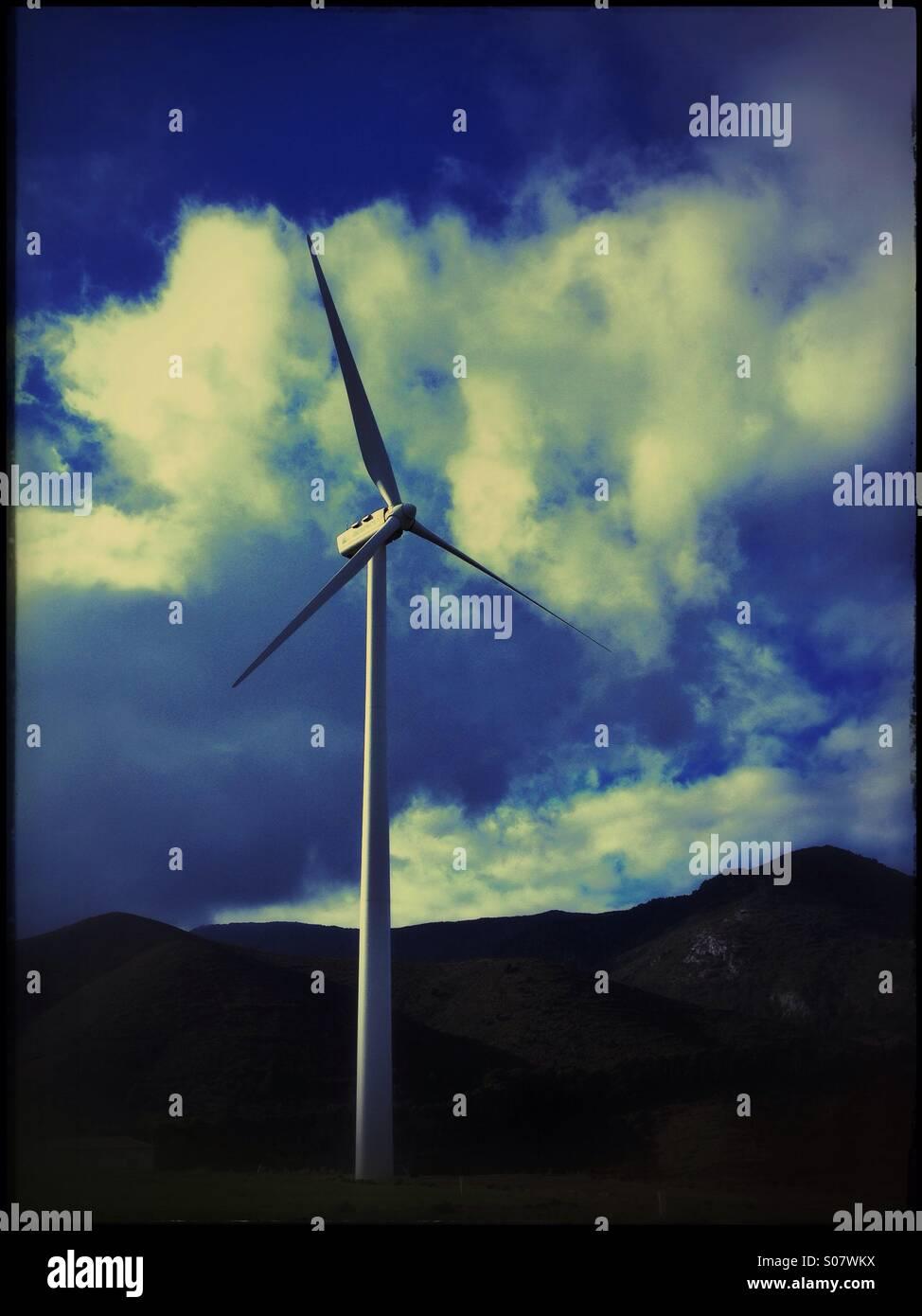 Windmühle, Spanien. Stockbild