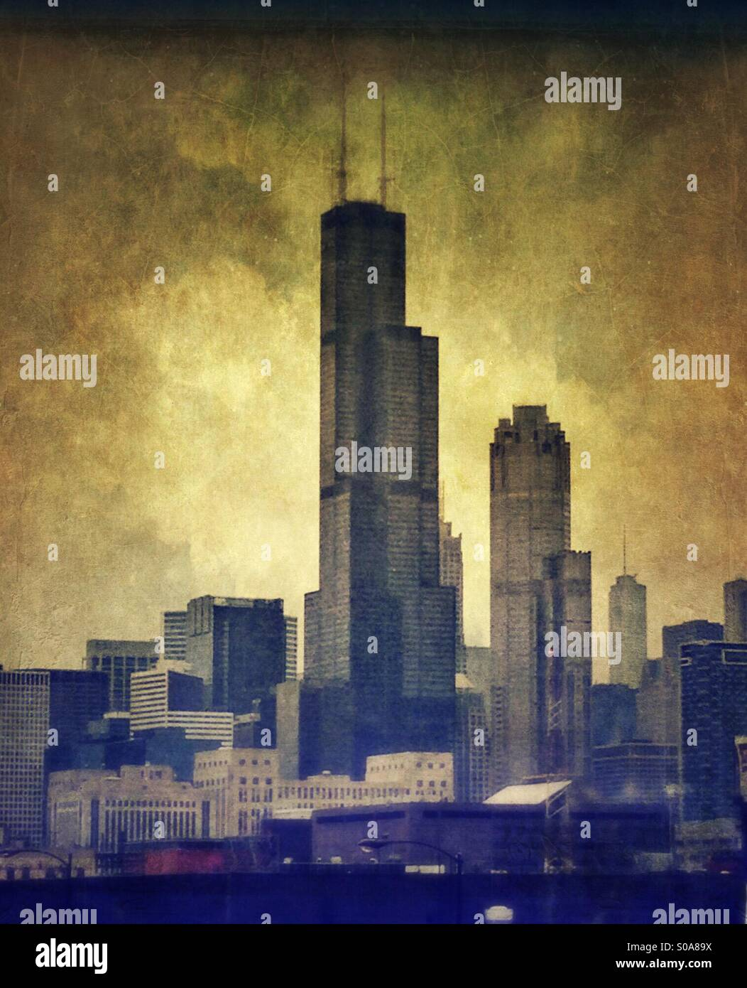Chicago Stockbild