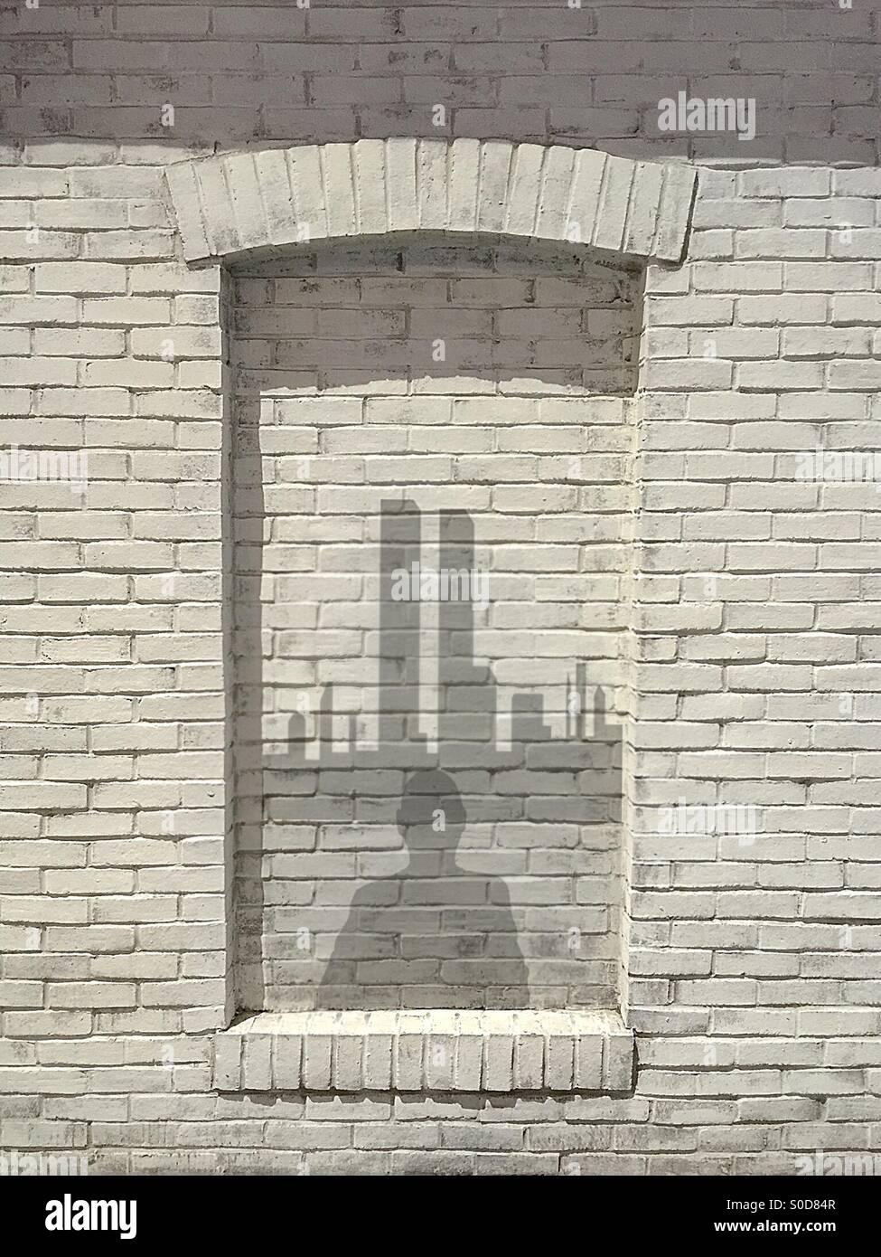 9/11-Erinnerung Stockbild