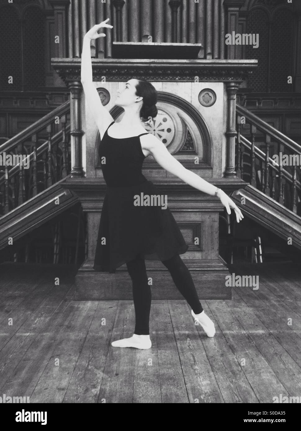 Ballerina Stockbild