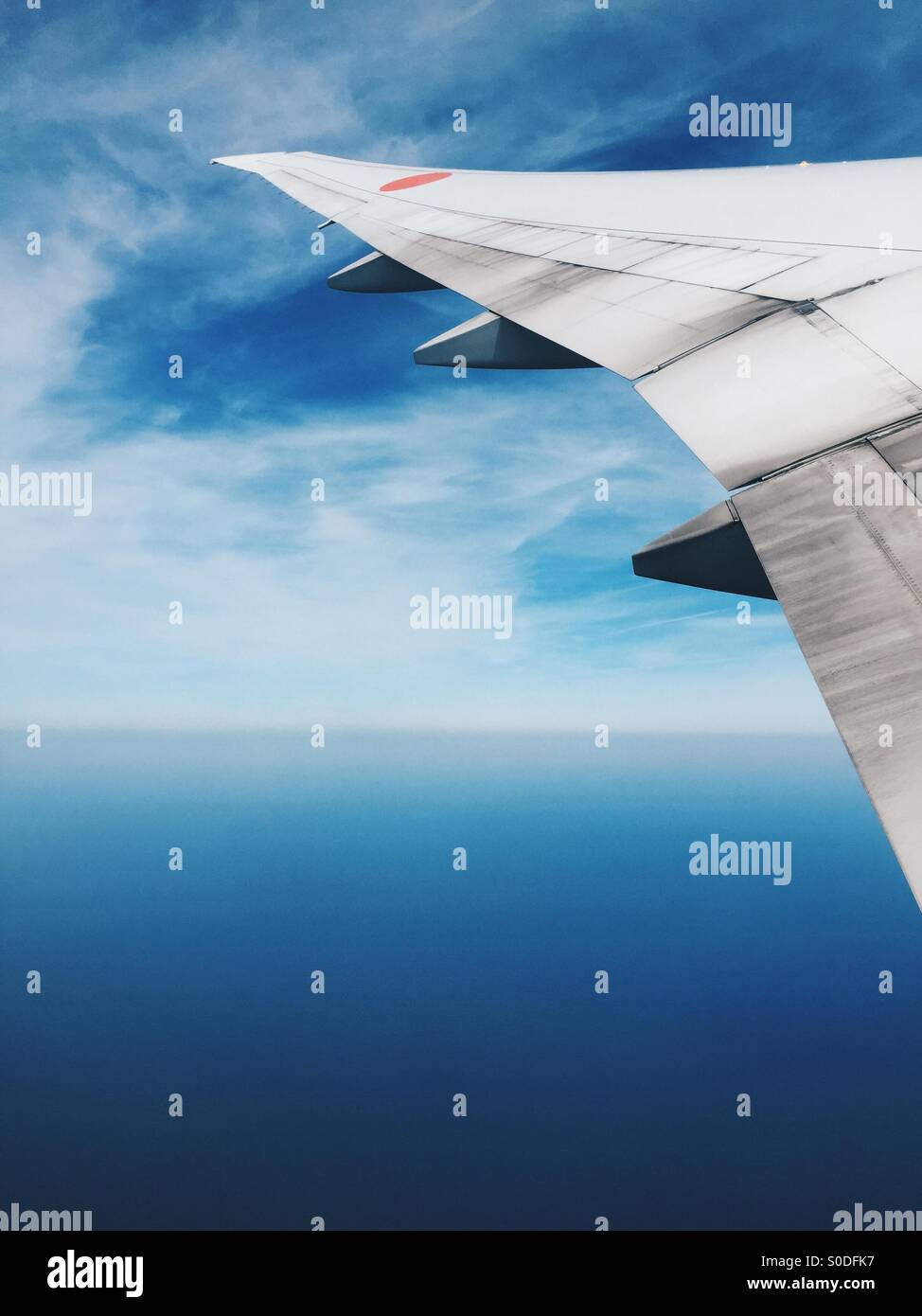fenster mit blick auf flugzeugfl gel von all nippon airways boeing 777 300 mit blauem himmel und. Black Bedroom Furniture Sets. Home Design Ideas