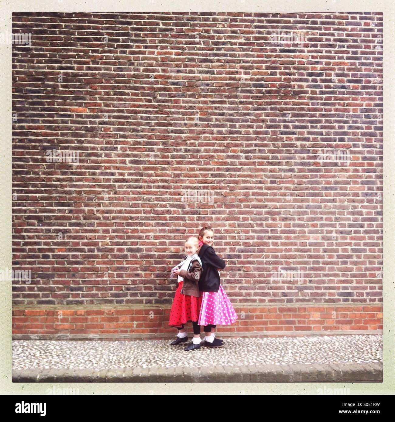 Kleine Tänzer Stockbild