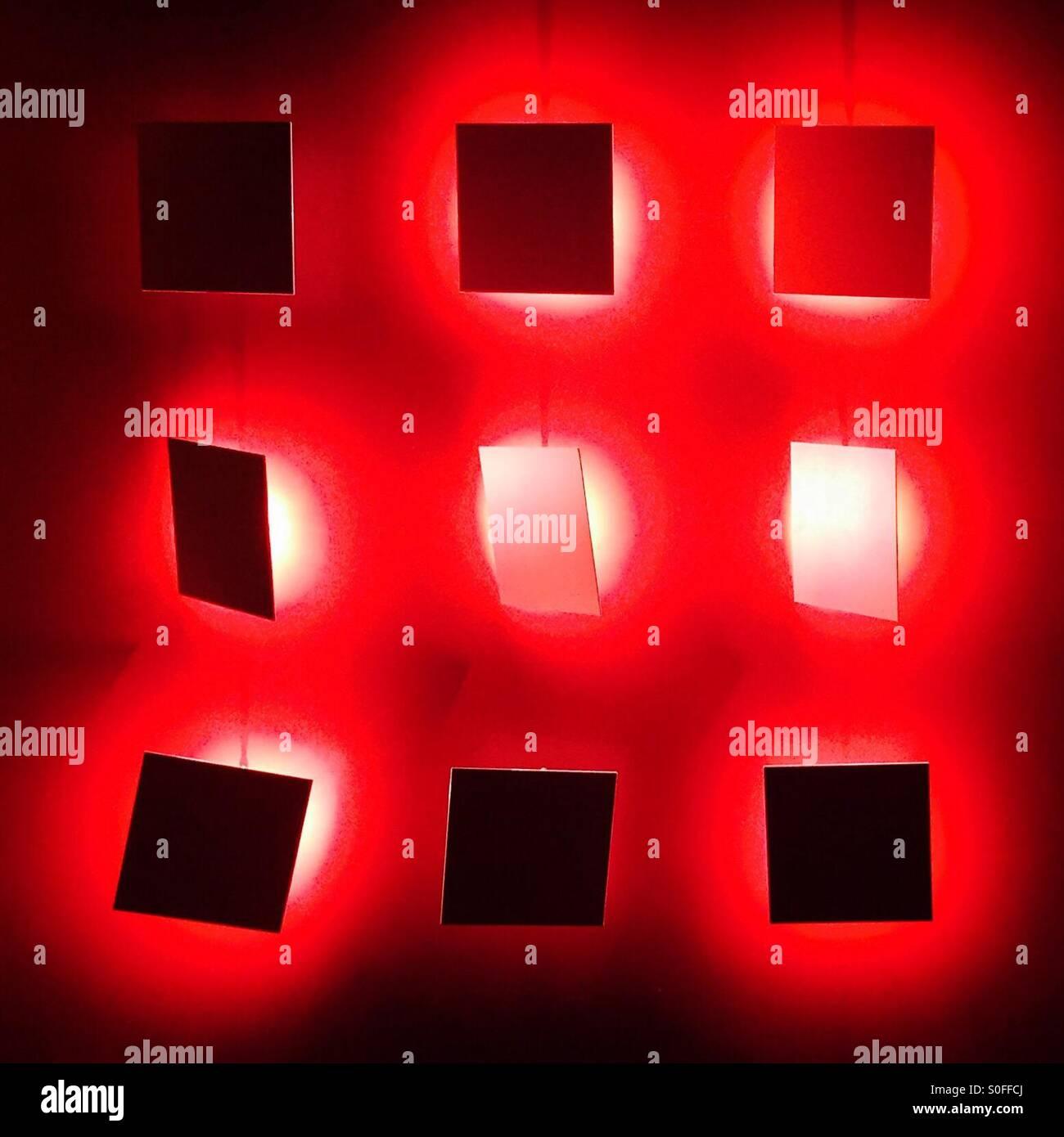 Rot Art Stockbild