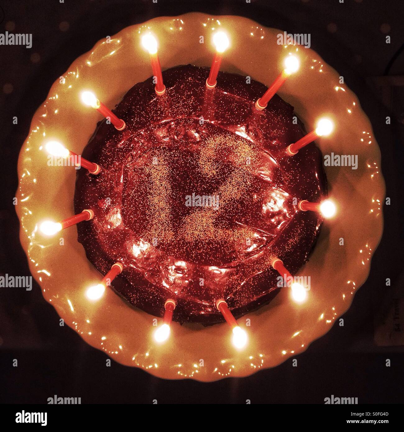 Geburtstagskuchen 12 Jahre Stockfoto Bild 310128573 Alamy