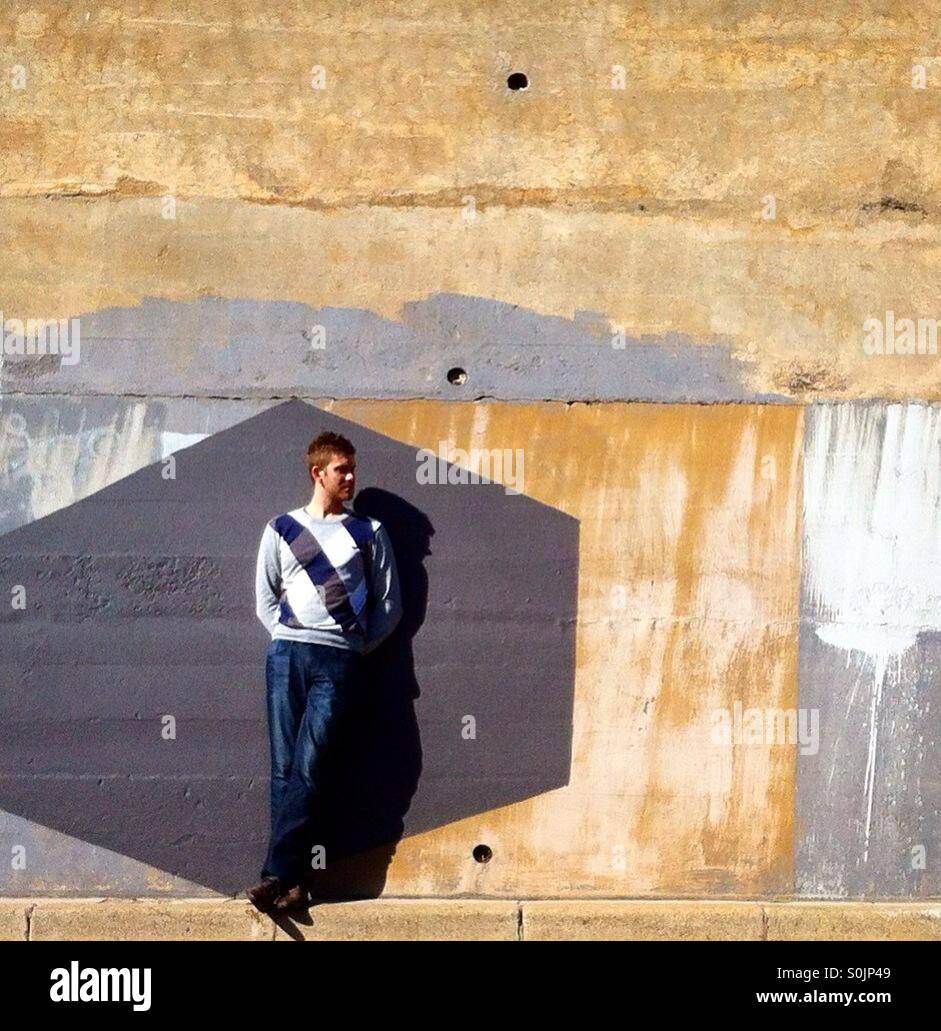 Urban explorer Stockbild