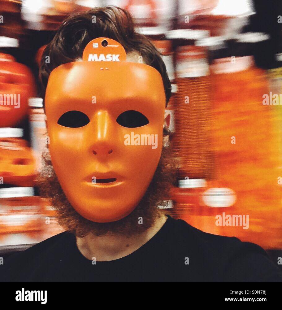 Maske Stockbild