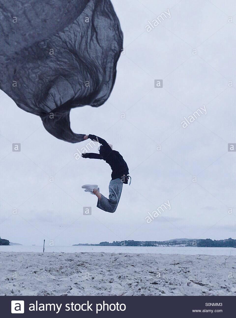 Freiheit zu fliegen Stockbild