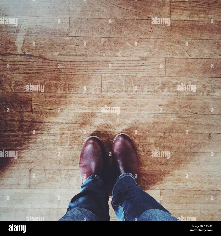 Stiefel Stockbild