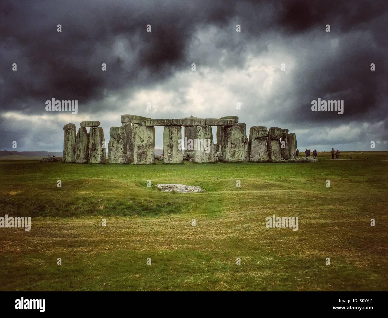 Stonehenge Stockbild