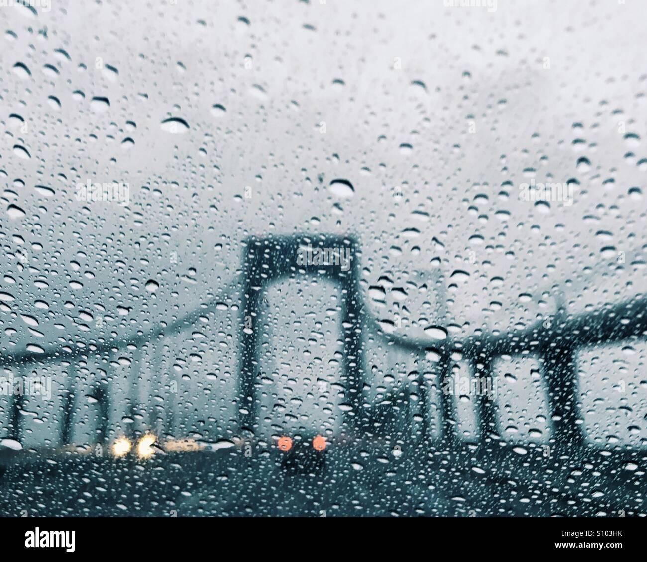 George-Washington-Brücke Stockbild