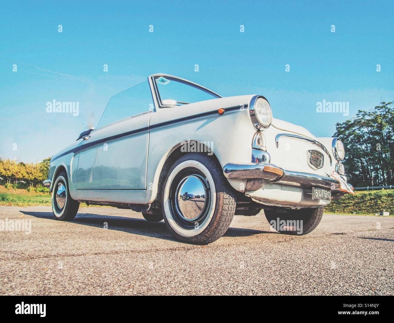 Alten cabrio Stockbild