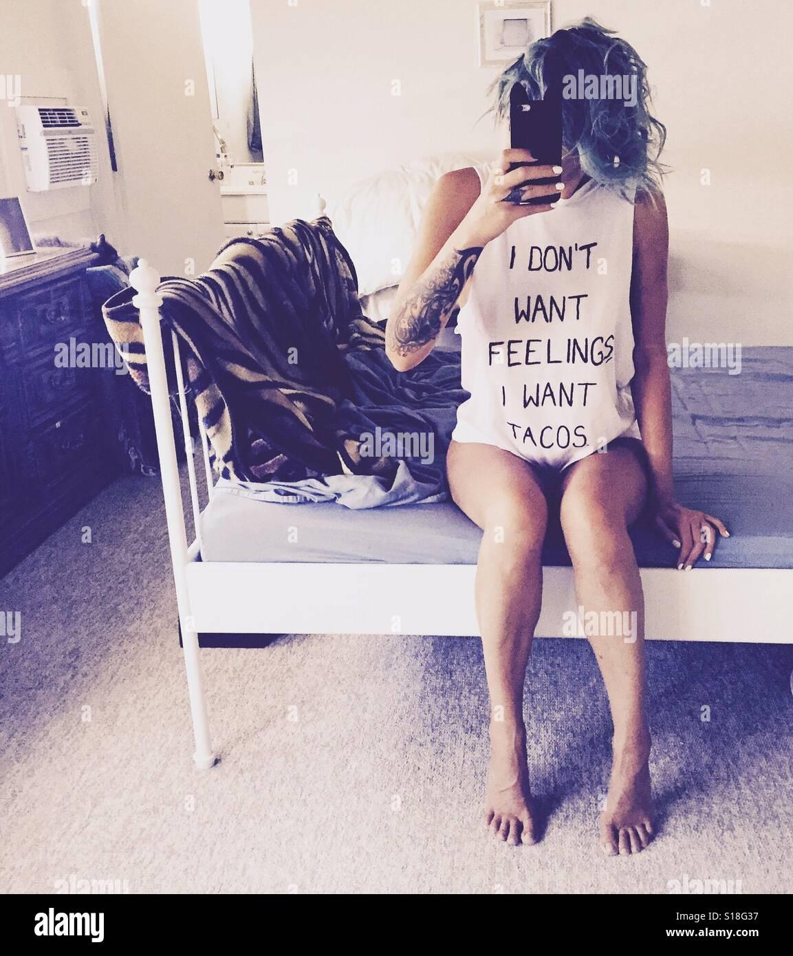 Gefühle. Stockfoto