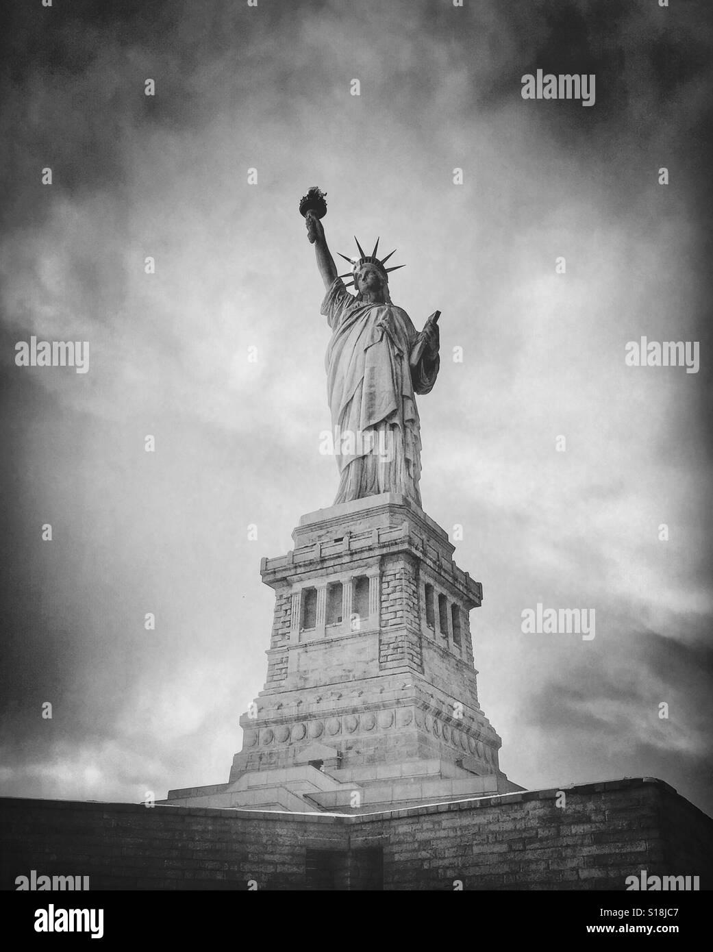 Freiheitsstatue - New York - super Fine Art-Fotografie Stockbild