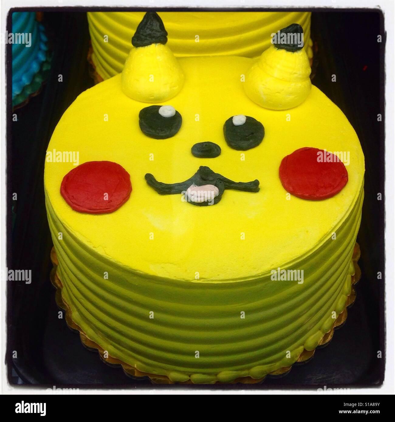 Kinder Kuchen Dekorieren Stockfotos Kinder Kuchen Dekorieren