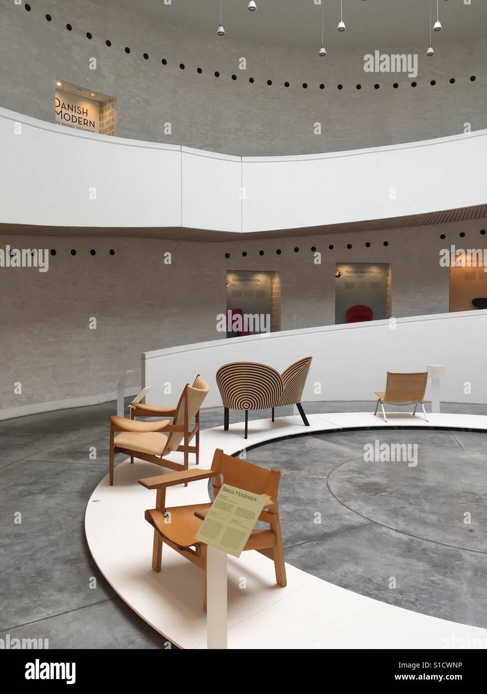 Dänisches Design Stuhl Ausstellung Von Arne Jacobsen