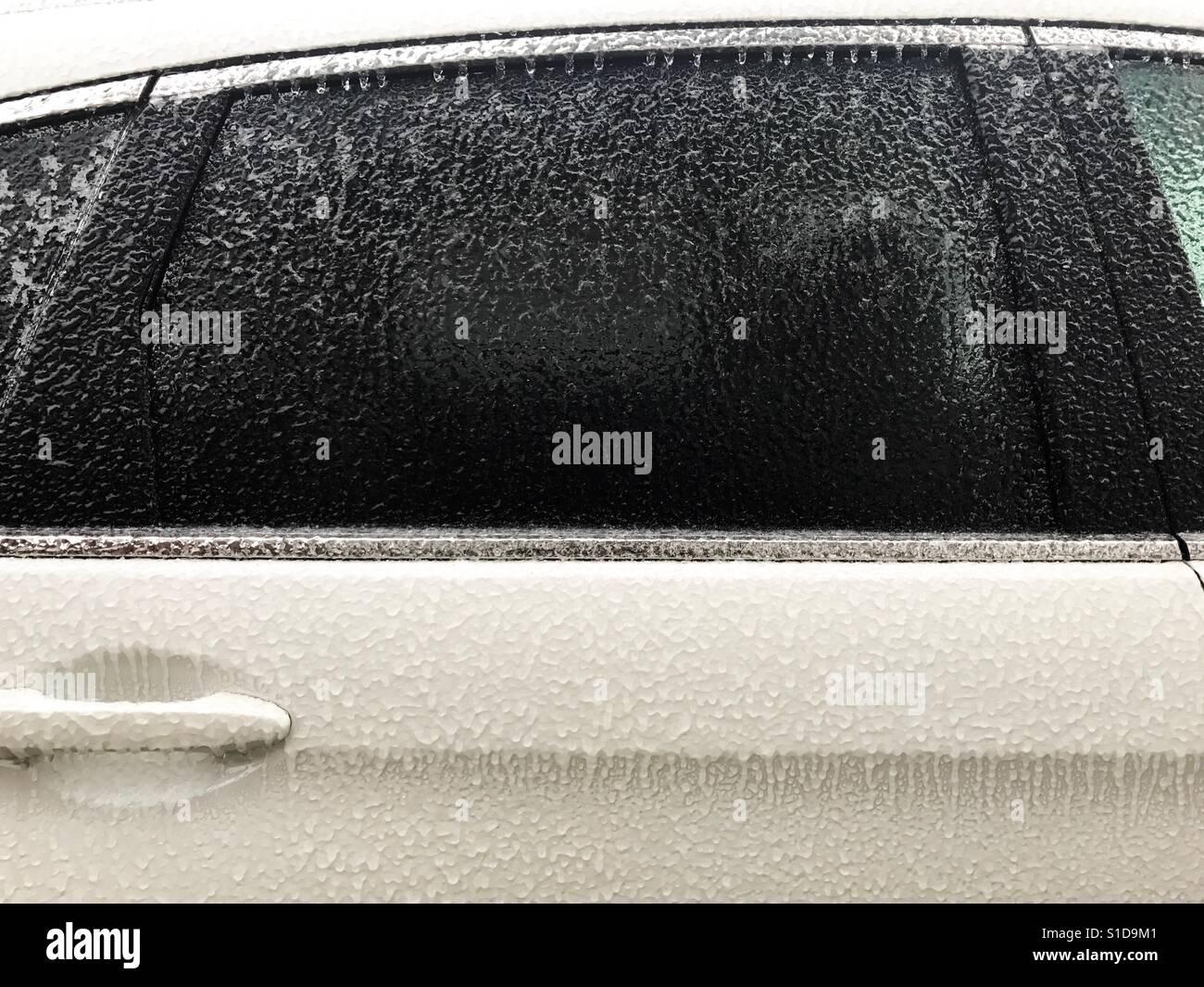 Eingefrorene autotür