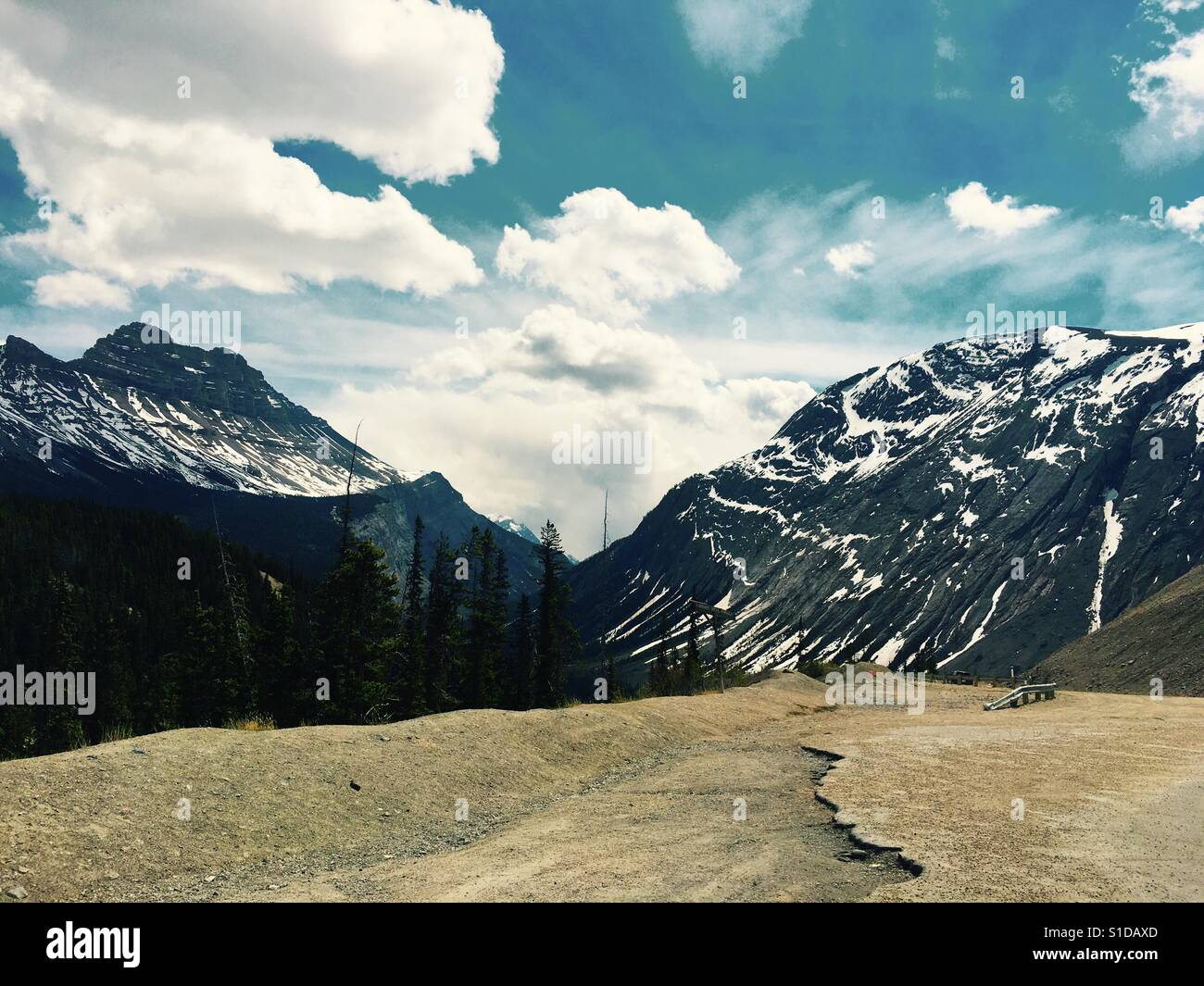Jasper Nationalpark Stockbild