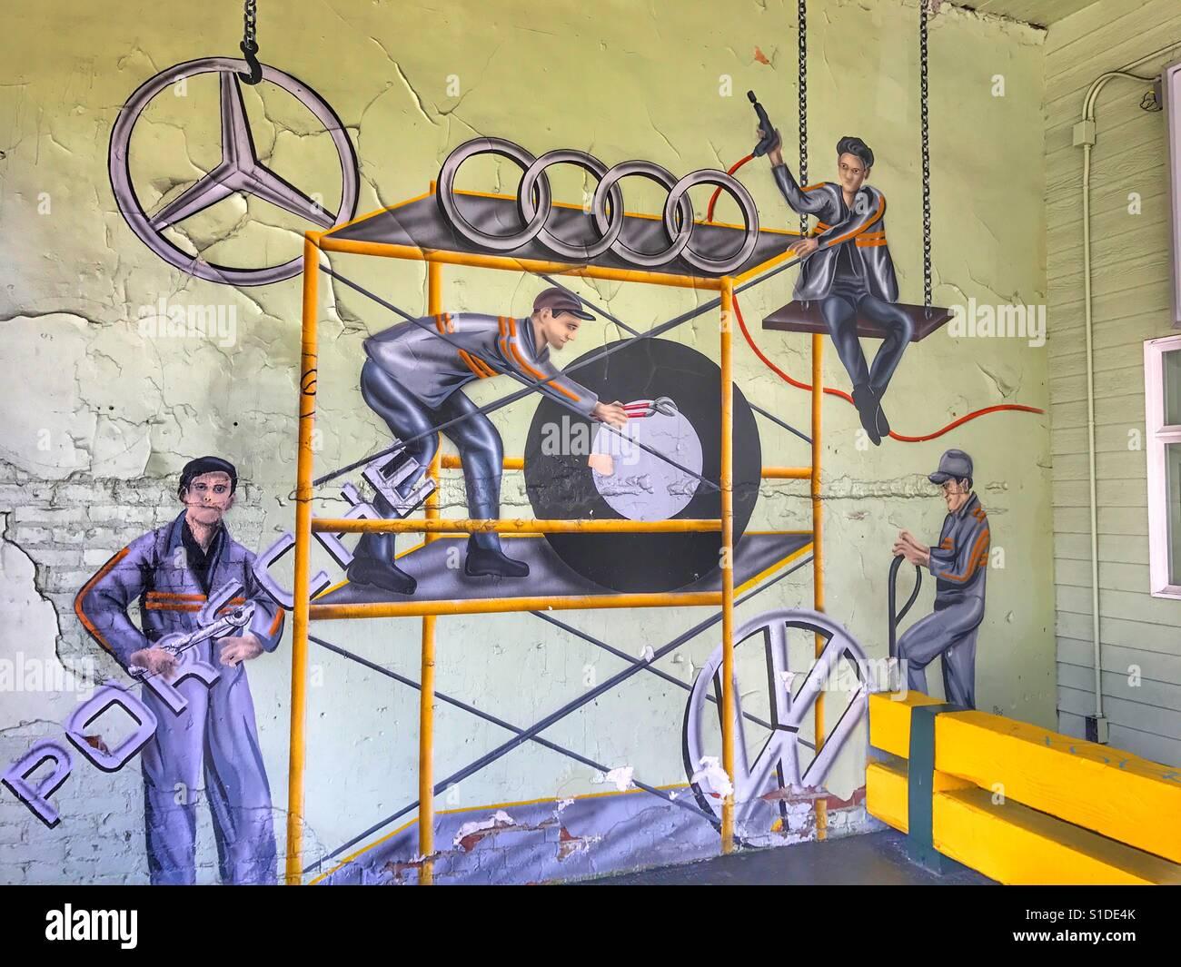 Porsche Garage Stockfotos Amp Porsche Garage Bilder Alamy