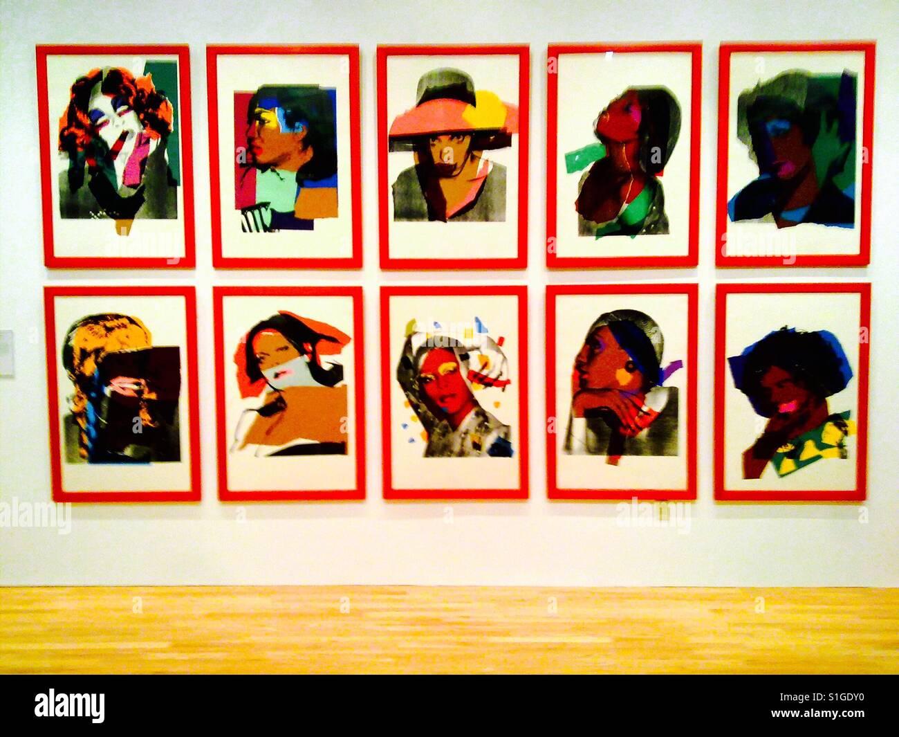 Andy Warhol Kunstwerke Stockfoto Bild 310763460 Alamy