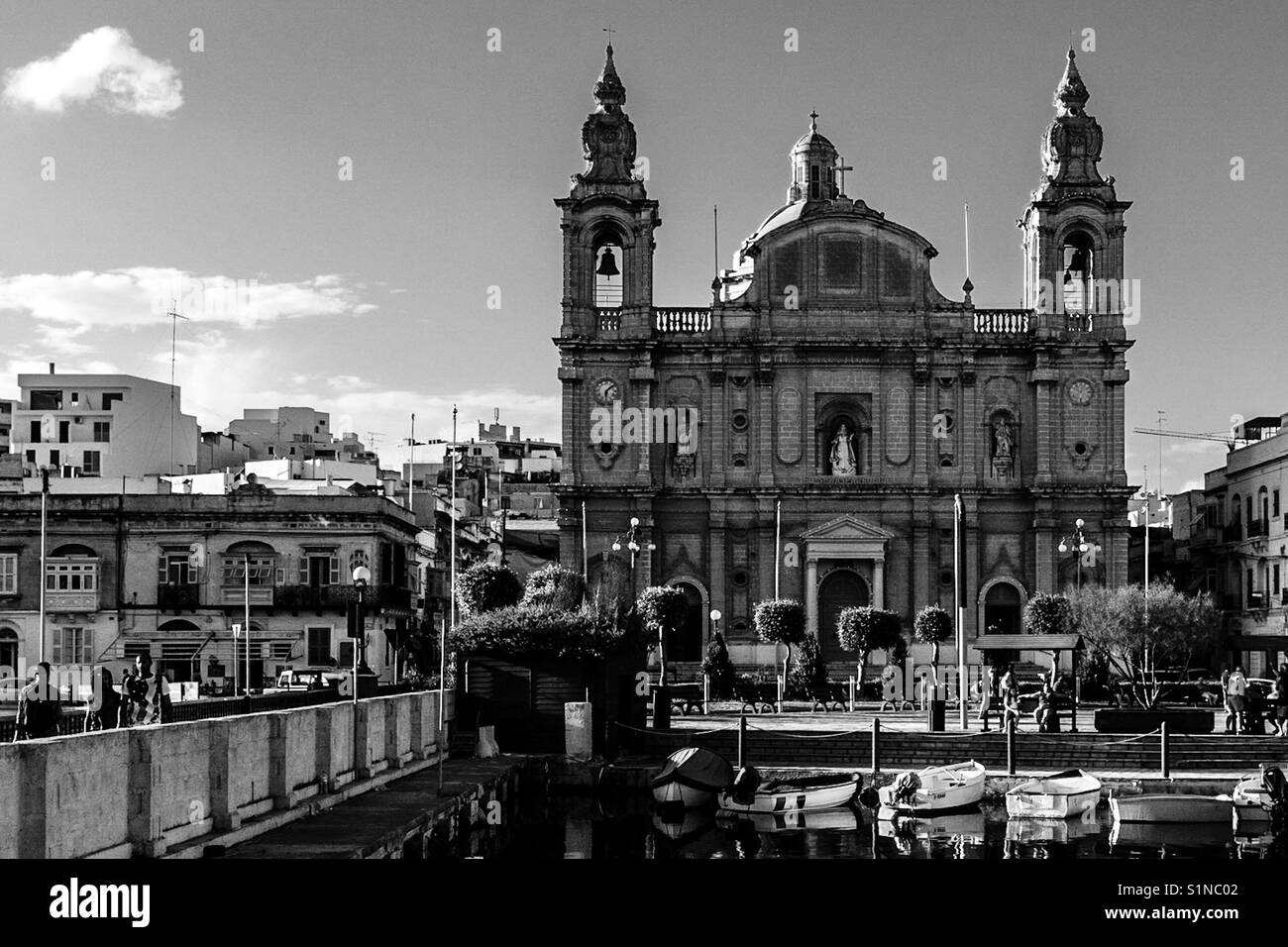 St. Joseph's Church, Msida, Malta, September 2017 Stockbild